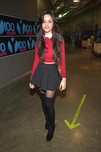 Camila Cabello Lace Up Boots
