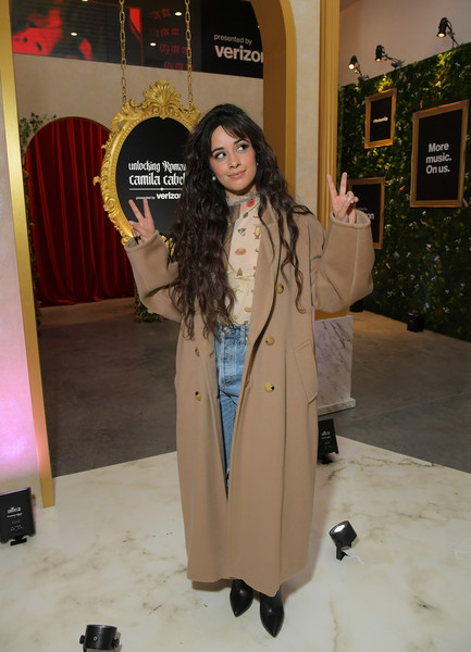 Camila Cabello Wool Coat