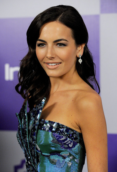 Camilla Belle Retro Hairstyle
