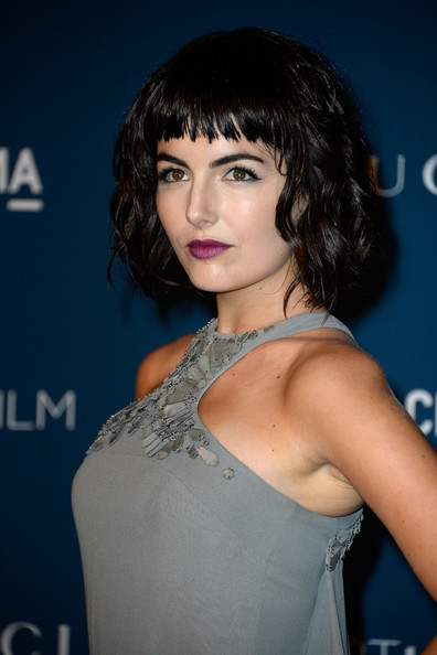 Camilla Belle Short cut with bangs