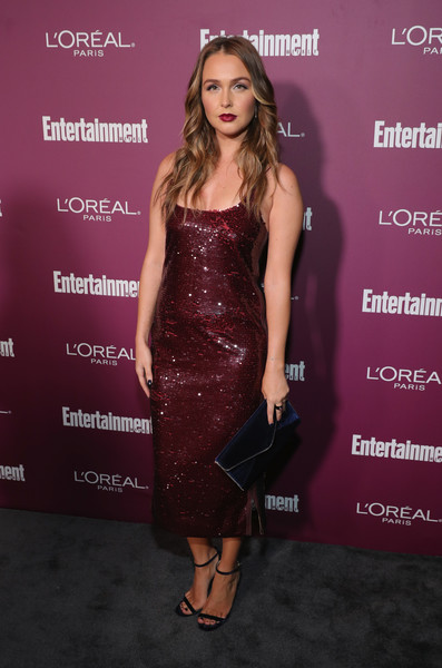 Camilla Luddington Sequin Dress