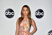 Camilla Luddington Print Dress
