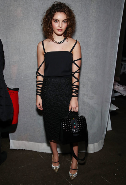 Camren Bicondova Evening Pumps