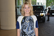 Candace Cameron Bure Print Dress