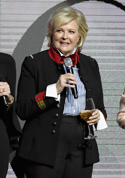 Candice Bergen Military Jacket [paramount pictures presentation highlighting,event,official,candice bergen,cinemacon 2018,the colosseum,caesars palace,nevada,paramount pictures presentation highlighting its,beyond,cinemacon,convention]