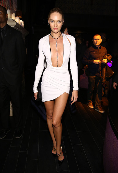 Candice Swanepoel Mini Dress