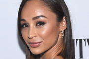 Cara Santana Side Parted Straight Cut