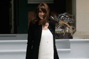 Carla Bruni-Sarkozy Evening Coat