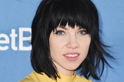 Carly Rae Jepsen Short Cut With Bangs