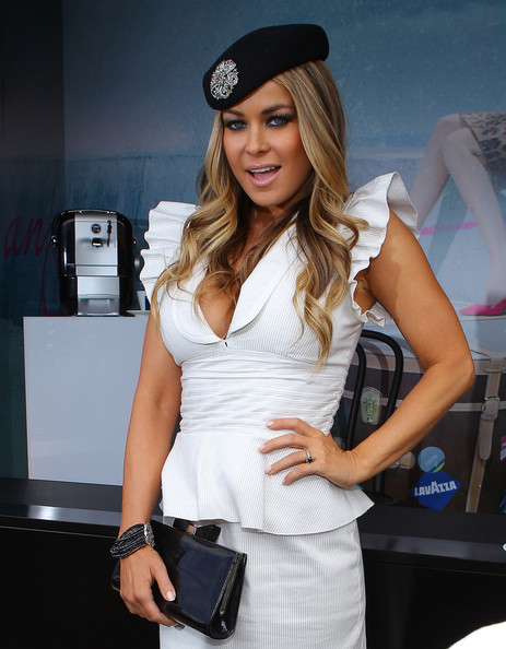 Carmen Electra Patent Leather Clutch