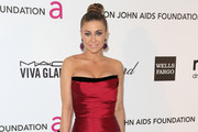Carmen Electra Strapless Dress