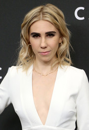 Zosia Mamet sported sweet center-parted waves at the New York premiere of 'Carol.'