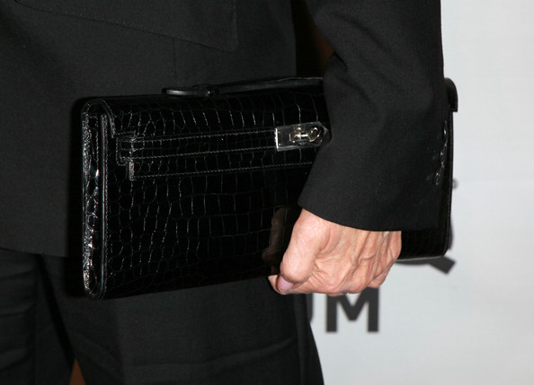 Carole Bayer Sager Patent Leather Clutch [songs of hope vi,hand,technology,bag,wallet,leather,fashion accessory,briefcase,carole bayer sager,house la,purse detail,los angeles,california,esquire,esquire house la]