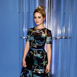 Look of the Day, February 17th: Dianna Agron's Printed Dress