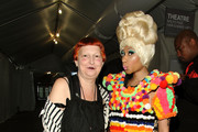 Nicki Minaj and Lynn Yaeger Photo