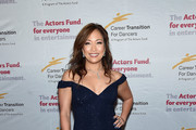 Carrie Ann Inaba Off-the-Shoulder Dress