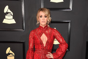 Carrie Underwood Cutout Dress