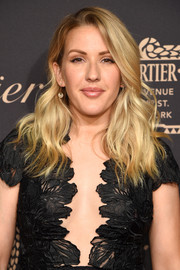 Ellie Goulding wore her hair down in a chic wavy style during the Cartier Fifth Avenue grand reopening.
