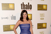 Casey Wilson Strapless Dress