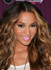 Ciara attended Cash Money Records' Lil Wayne album release party with a pretty, rosebud pink pout.