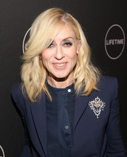 Judith Light attended the Lifetime Winter Movies celebration wearing a shoulder-length wavy 'do.