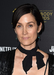 Carrie-Anne Moss sported a breezy bob at the 'Jessica Jones' cast and crew discussion.