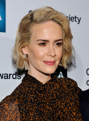 Sarah Paulson wore short, sweet waves at the Artios Awards.
