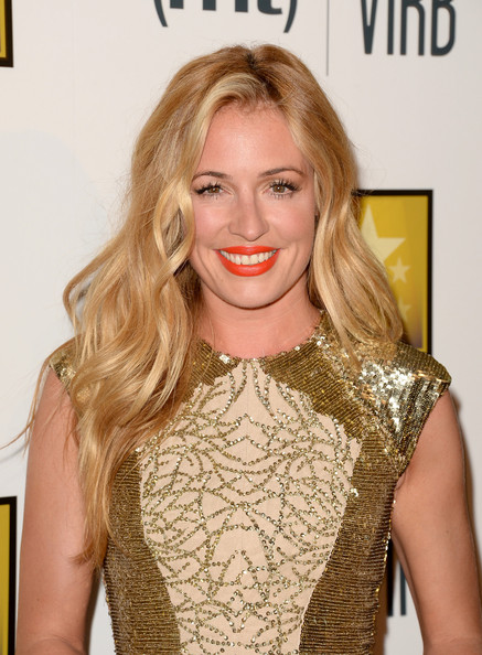 Cat Deeley Bright Lipstick