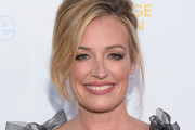 Cat Deeley Messy Updo
