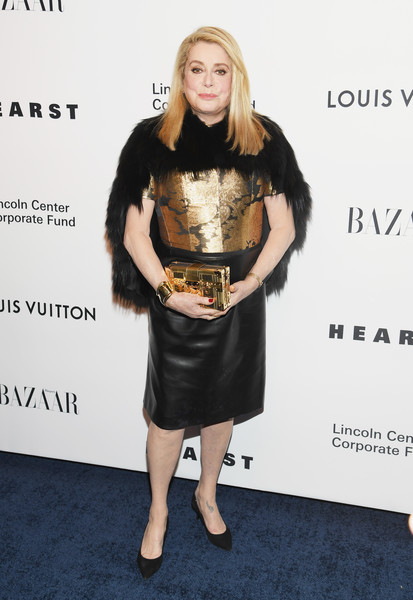 Catherine Deneuve Box Clutch