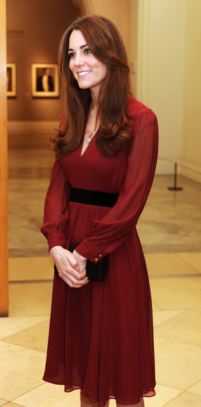 More Pics of Kate Middleton Long Curls (1 of 8) - Kate Middleton Lookbook - StyleBistro