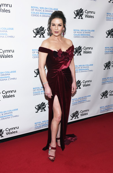 Catherine Zeta-Jones Off-the-Shoulder Dress