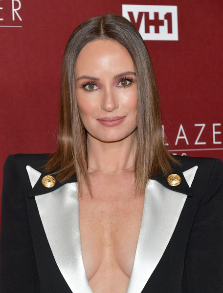 Catt Sadler Medium Straight Cut [hair,hairstyle,eyebrow,blond,lip,chin,premiere,suit,long hair,brown hair,arrivals,catt sadler,trailblazer honors,vh1 trailblazer honors,the wilshire ebell theatre,los angeles,california,vh1]