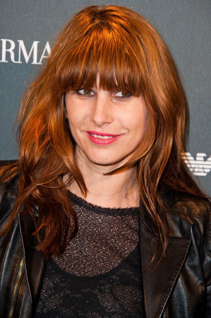 Cecile Togni Long Straight Cut With Bangs Long Straight
