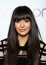 Zara Martin looked cute at the PRIV launch with her sleek straight layers and eye-grazing bangs.