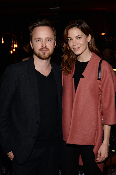 More Pics of Michelle Monaghan Long Wavy Cut (2 of 5) - Long Hairstyles Lookbook - StyleBistro [fashion,suit,formal wear,event,outerwear,facial hair,fashion design,night,premiere,blazer,house of elyx,new york city,a celebration,celebration,bryan cranston,aaron paul,michelle monaghan]