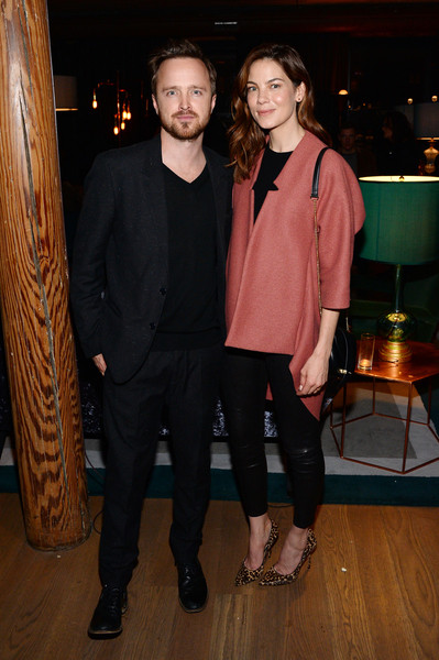 More Pics of Michelle Monaghan Long Wavy Cut (5 of 5) - Long Hairstyles Lookbook - StyleBistro [fashion,event,suit,fashion design,outerwear,formal wear,blazer,house of elyx,new york city,a celebration,celebration,bryan cranston,aaron paul,michelle monaghan]