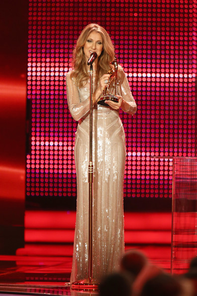 Celine Dion Sequin Dress