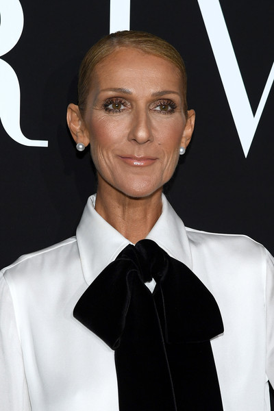 Celine Dion Pearl Studs
