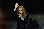 Singer Celine Dion performs during the first night of her new show at The Colosseum at Caesars Palace March 15, 2011 in Las Vegas, Nevada. Dion, who ended a five-year run at The Colosseum in December of 2007, is beginning a three-year residency at the 4,300-seat venue.