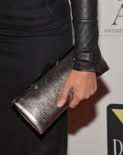 More Pics of Soledad O'Brien Metallic Clutch (1 of 5) - Metallic Clutch Lookbook - StyleBistro