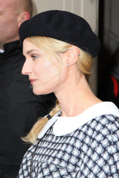 More Pics of Diane Kruger Beret (2 of 8) - Casual Hats Lookbook - StyleBistro