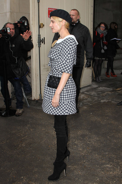 More Pics of Diane Kruger Over the Knee Boots (5 of 8) - Diane Kruger Lookbook - StyleBistro