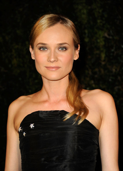 More Pics of Diane Kruger Neutral Eyeshadow (1 of 7) - Diane Kruger Lookbook - StyleBistro