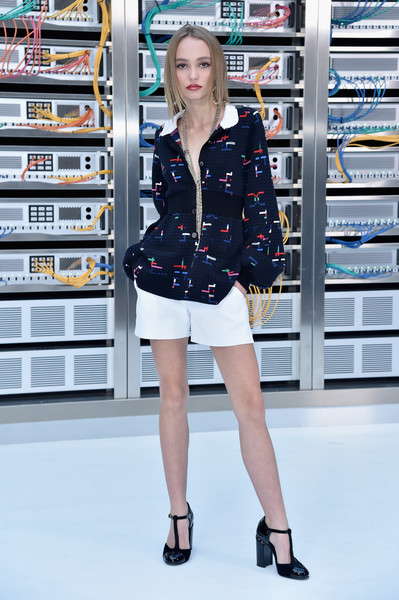 Lily-Rose Depp at Chanel