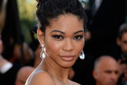 Chanel Iman Twisted Bun