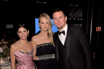 Channing Tatum Jenna Dewan-Tatum Fifth Annual Baby2Baby Gala, Presented by John Paul Mitchell Systems - Cocktail