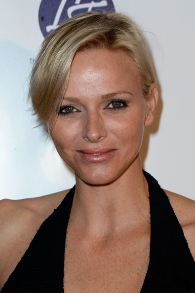 Charlene Wittstock Side Parted Straight Cut [hair,face,hairstyle,blond,eyebrow,chin,beauty,lip,forehead,neck,cannes,france,baoli beach,cannes film festival,lova world images closing party,charlene of monaco]