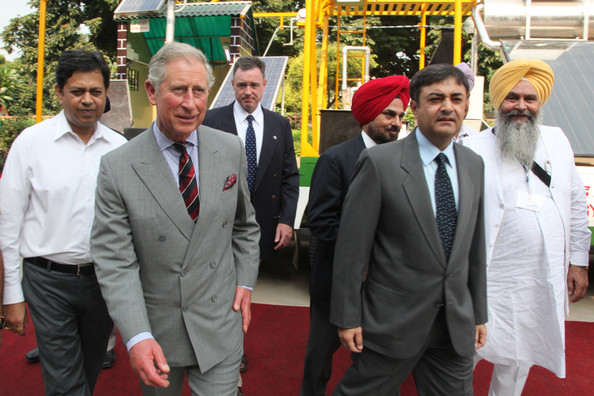 More Pics of Prince Charles Striped Tie (8 of 40) - Prince Charles Lookbook - StyleBistro []