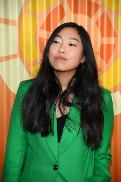 More Pics of Awkwafina Long Side Part (8 of 16) - Awkwafina Lookbook - StyleBistro [face,hair,green,head,beauty,yellow,lady,forehead,black hair,long hair,awkwafina,charlize theron africa outreach project,new york city,the africa center,fundraising event,charlize theron africa outreach project fundraising event]